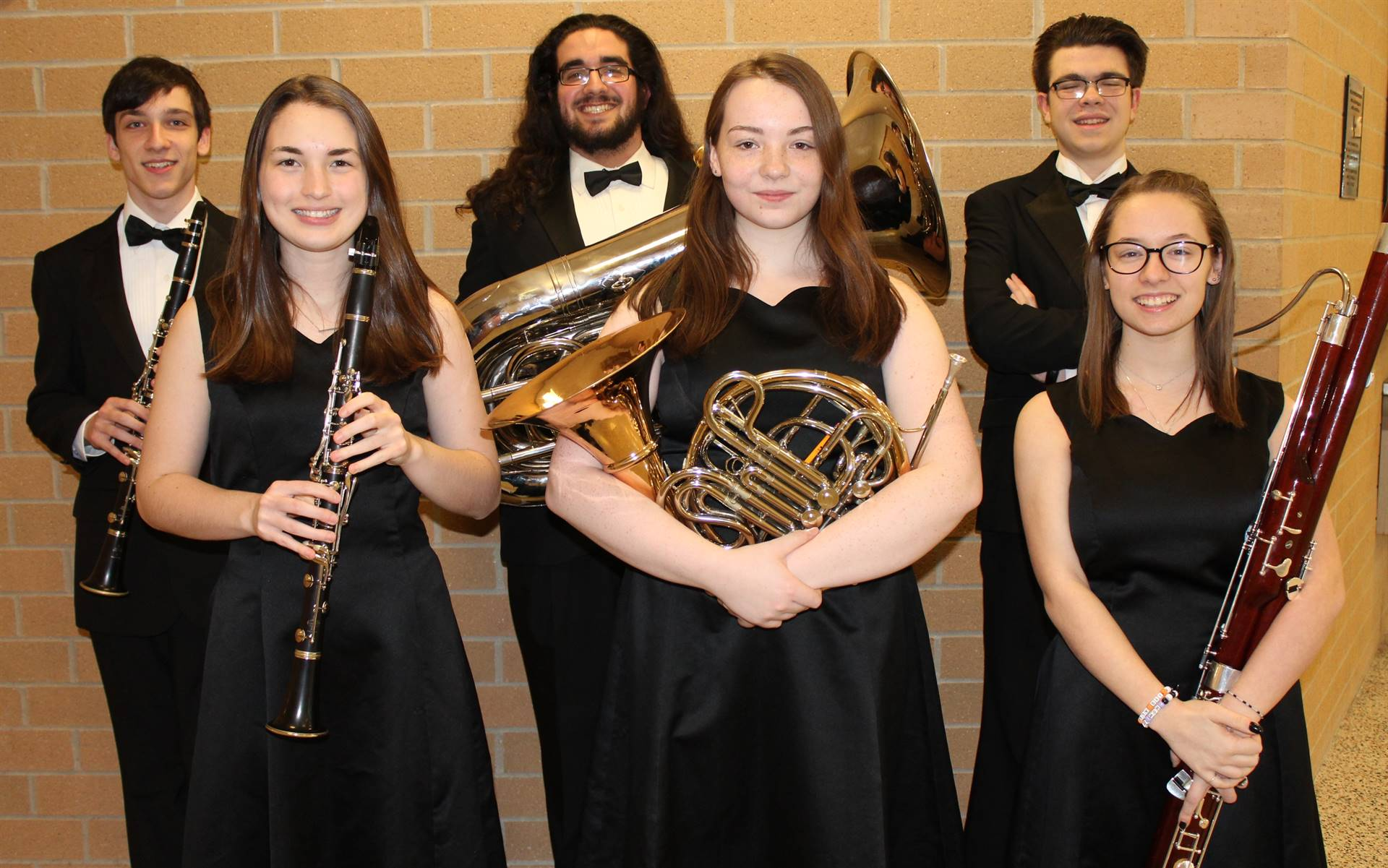 The Six Region Band Musicians