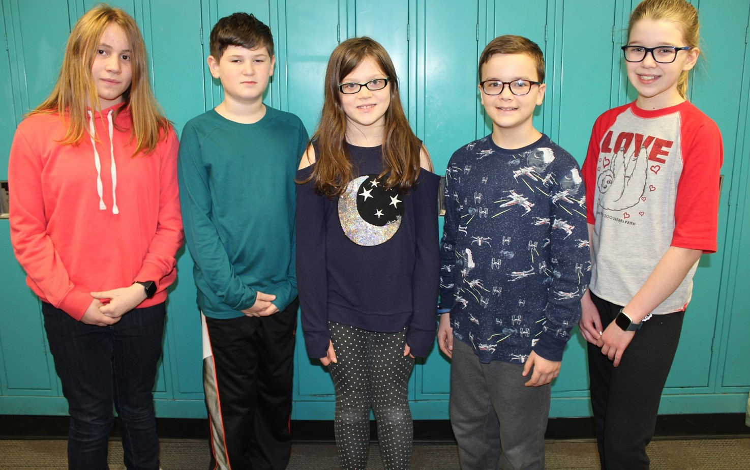 The five NAMS students who finished in Second Place in the Science Bowl