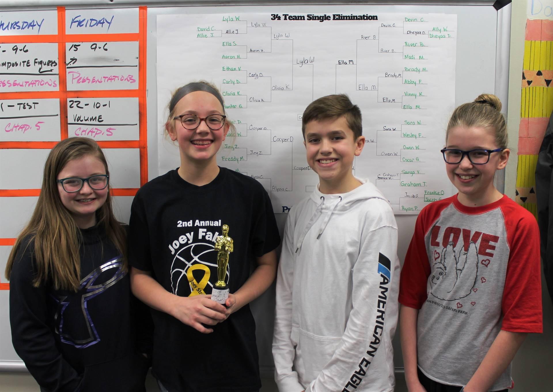 The Final Four NAMS Scrabble Tournament Players