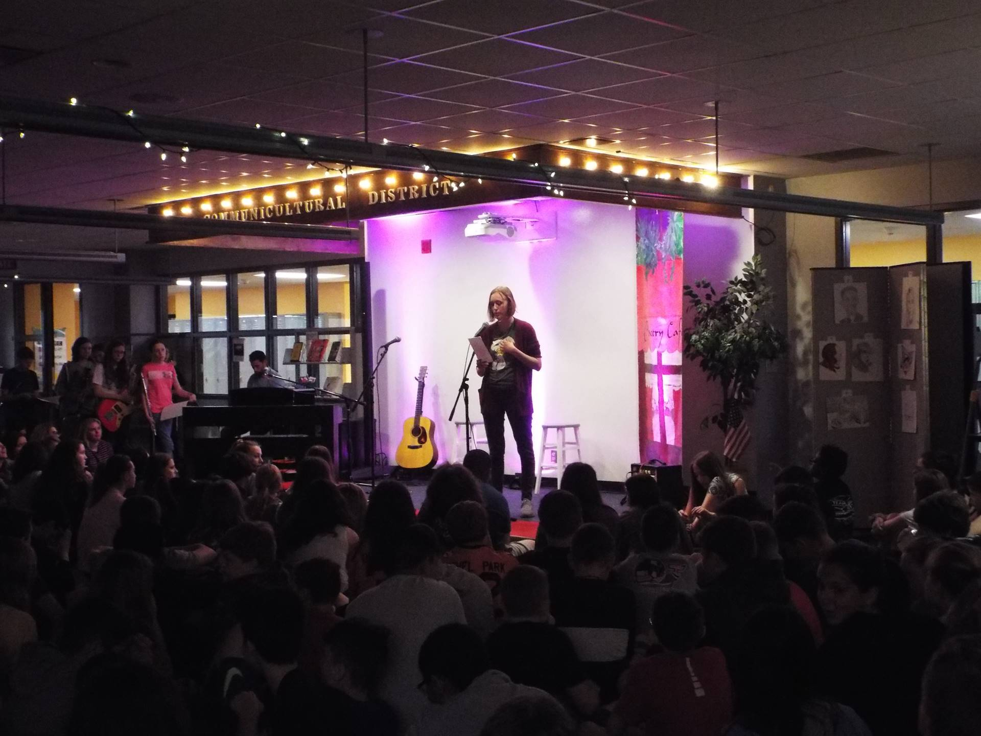 Poetry Cafe 2019
