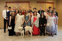 The S.T.A.R.S. Prom group in the BPHS lobby