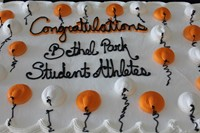Cake for the student athletes