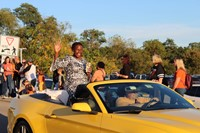 The Homecoming Parade Grand Marshall