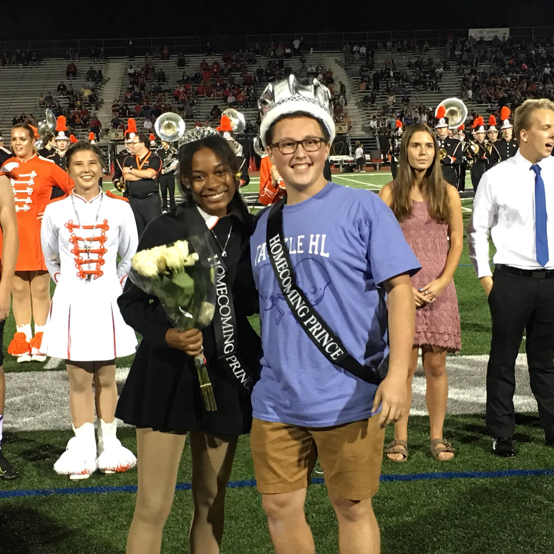 Homecoming Princess and Prince