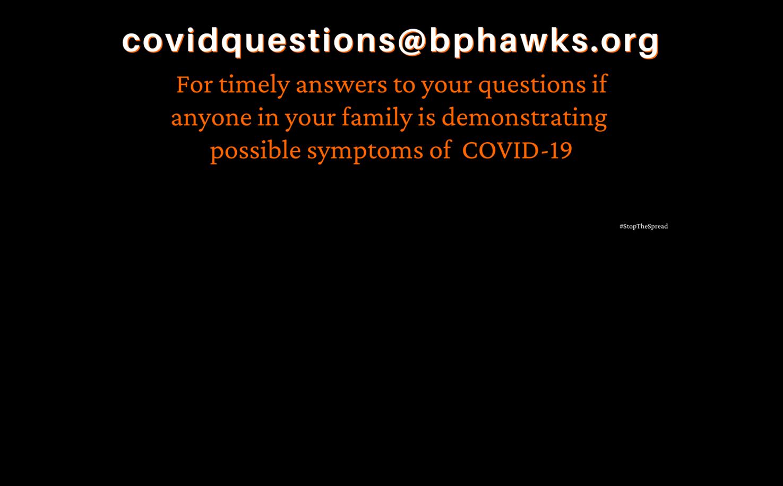 Covid Questions Drop