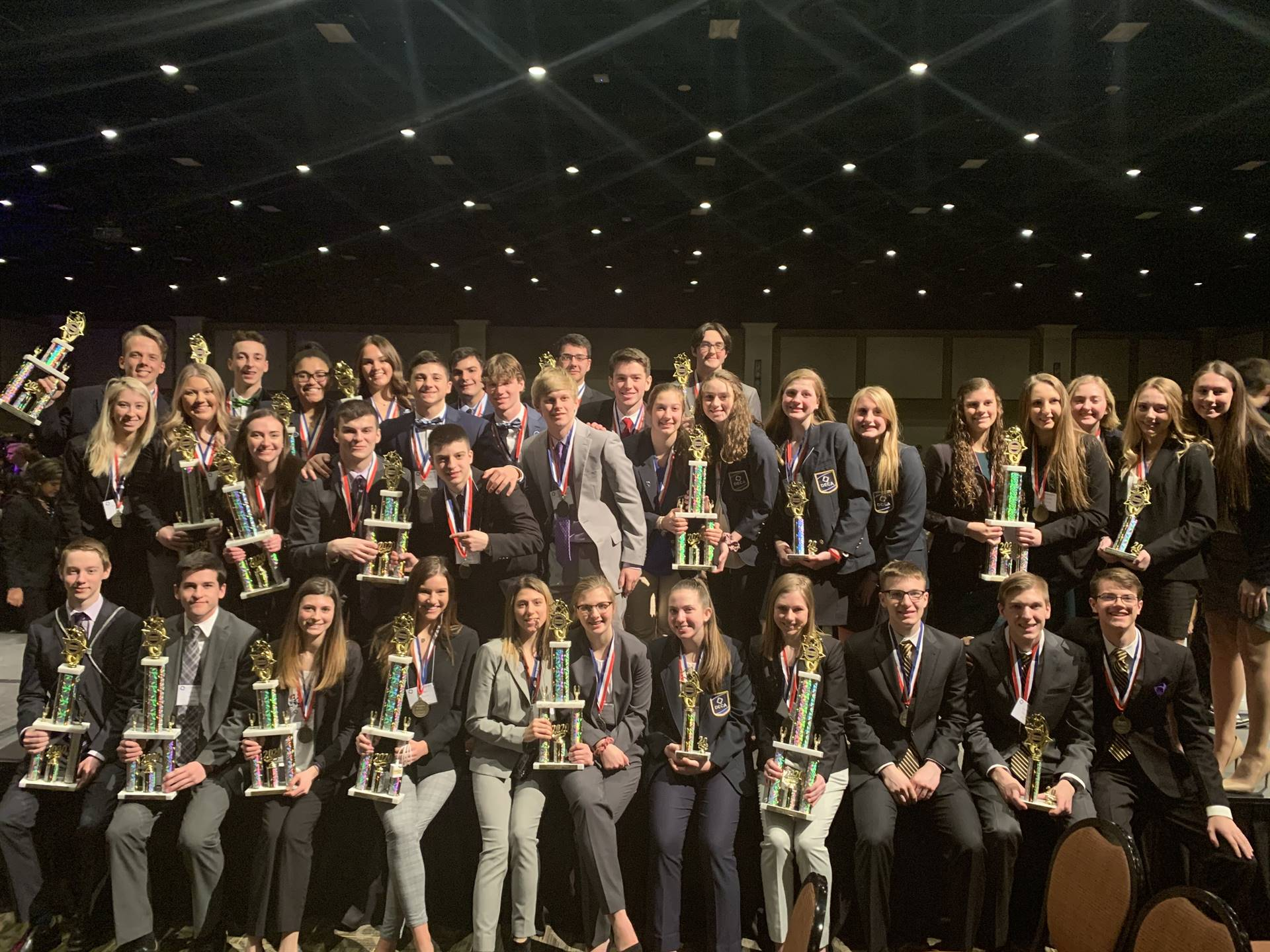 The BPHS DECA State Finalists
