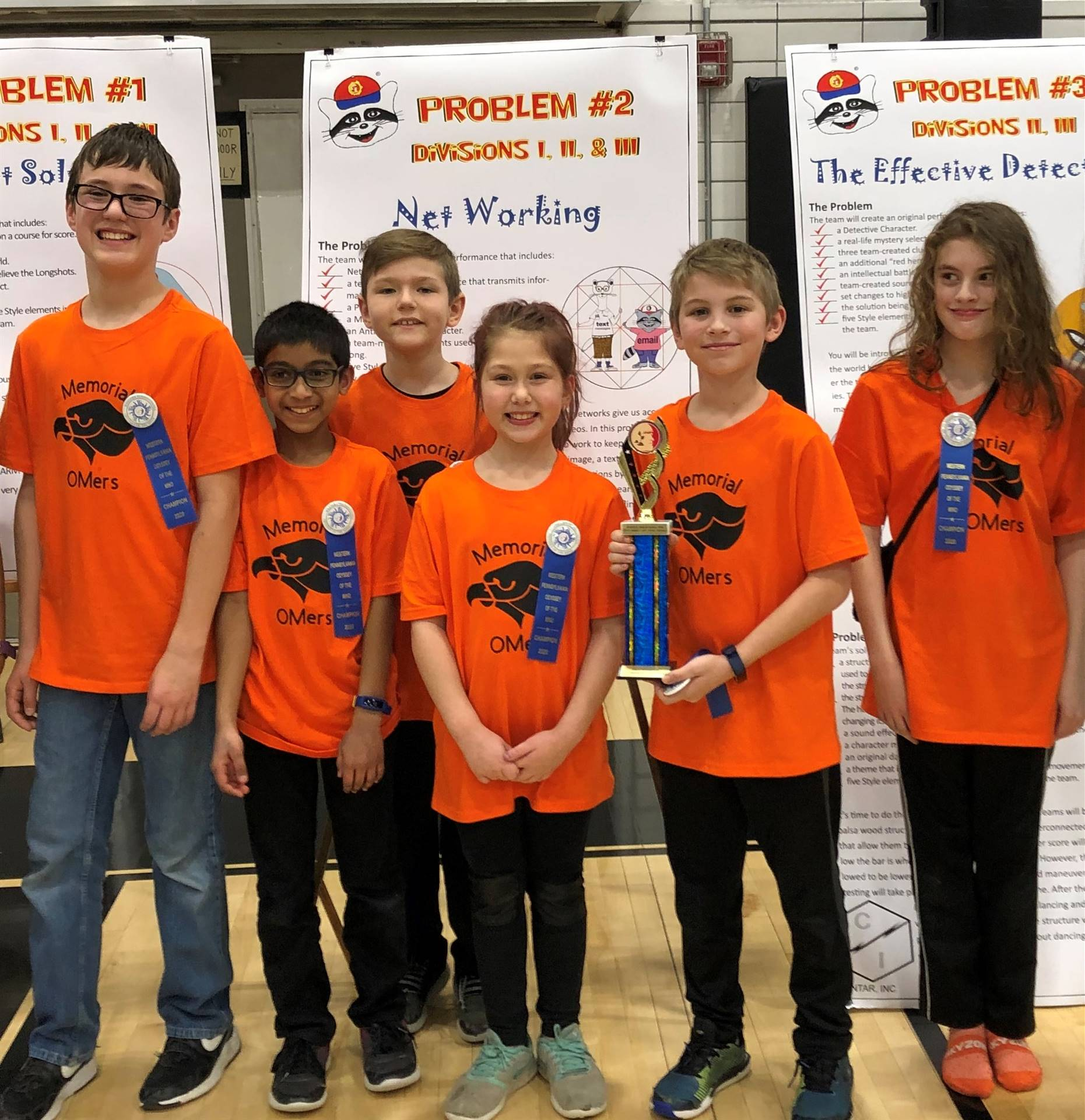 The Odyssey of the Mind Division I Champions