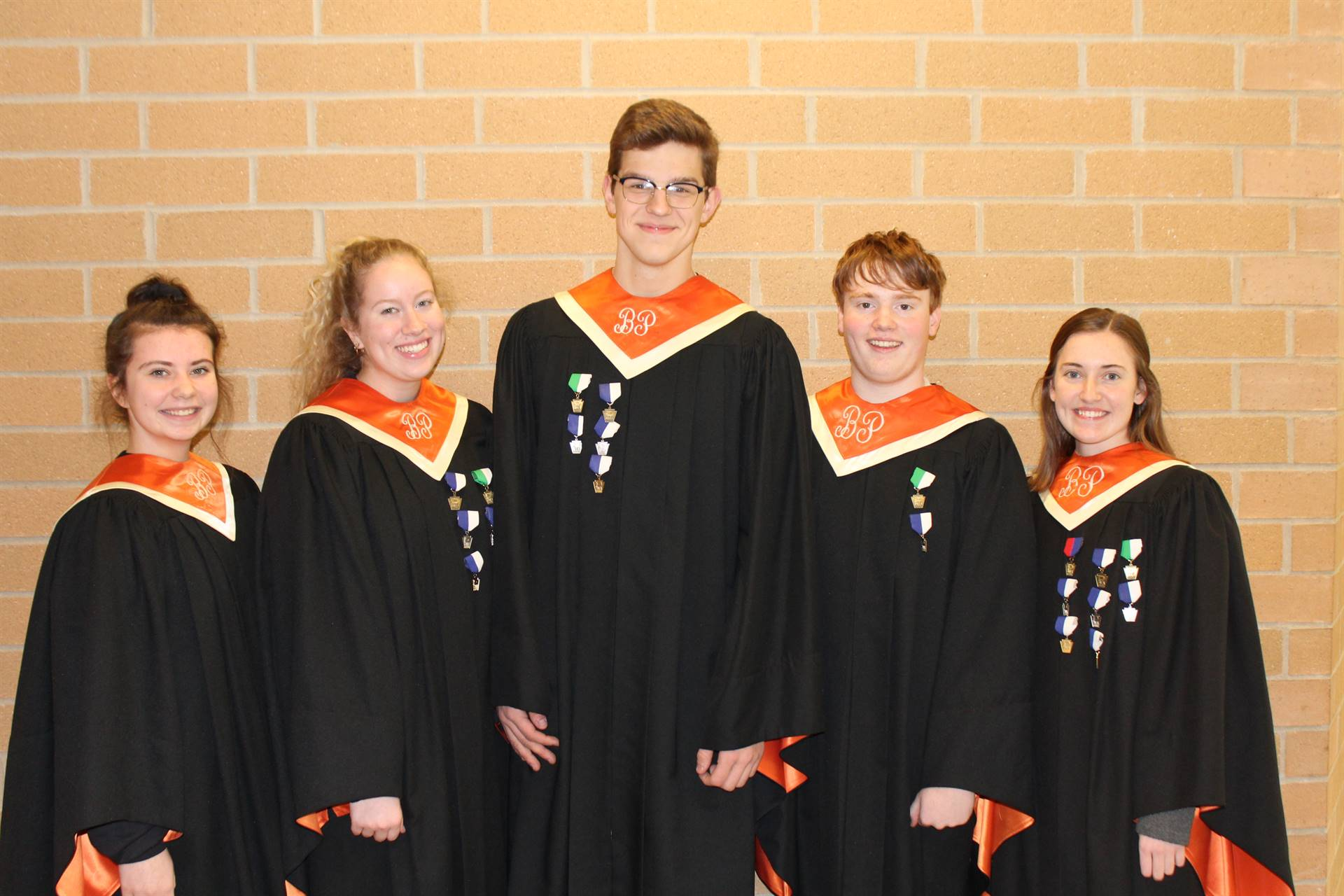 The Five PMEA All-State Chorus Vocalists
