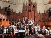 Top 21 Choir at Heinz Chapel