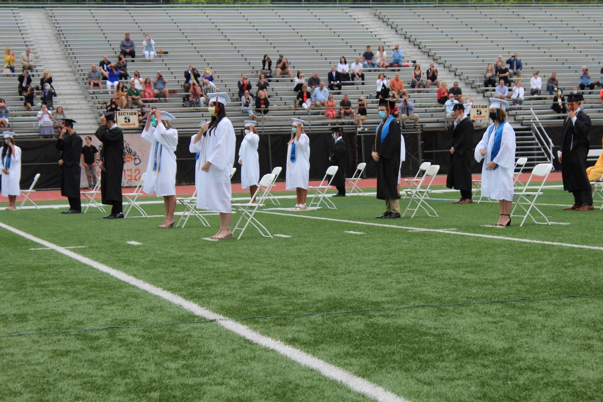 tassel turning ceremony