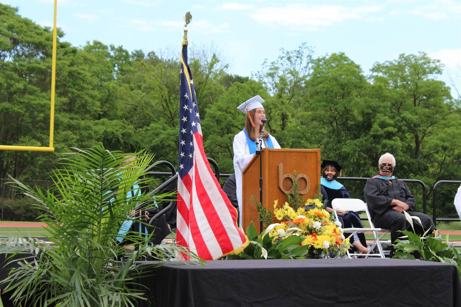 Senior Class President Address