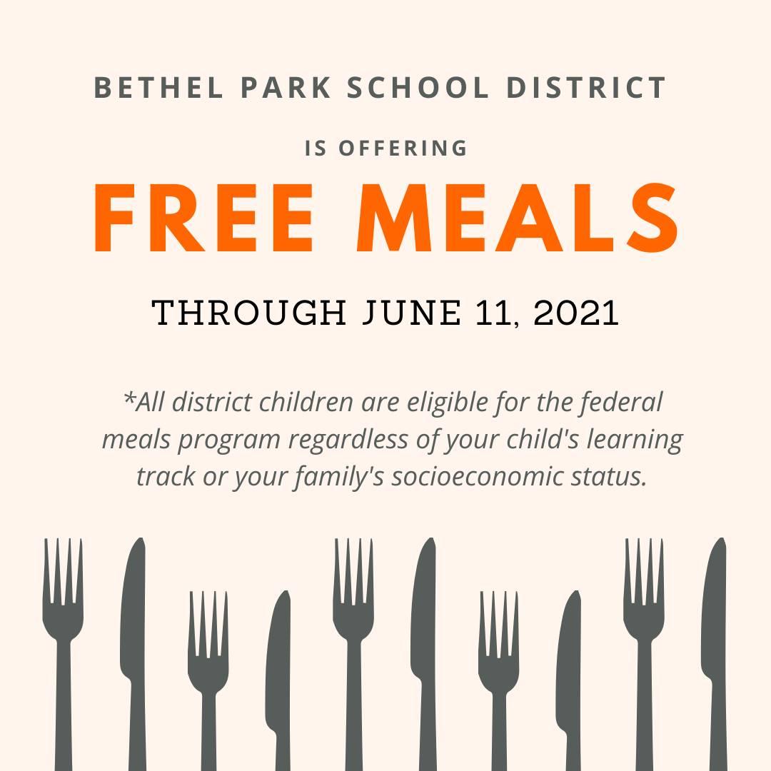 Meals Program Ends June 11