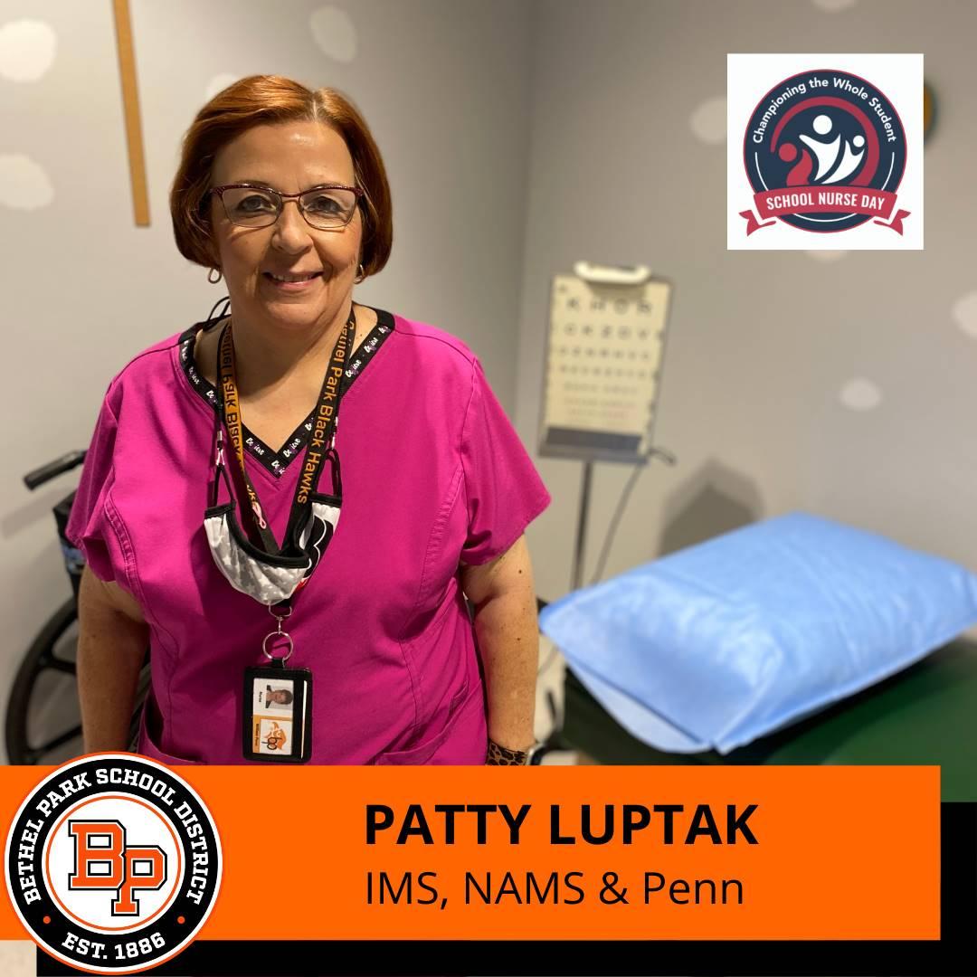 School Nurse: Luptak