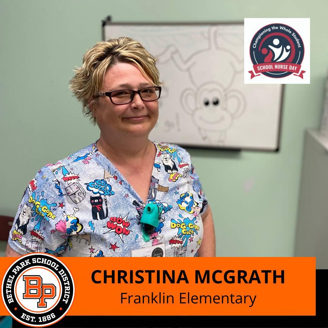 School Nurse: McGrath