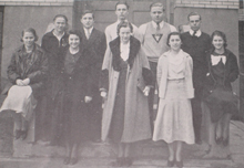 High School students in the 1930s