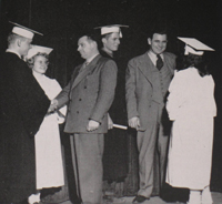 Bethel Park graduation circa 1960s