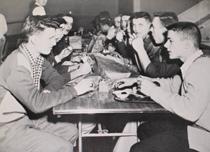 BPHS cafeteria circa the 1960s