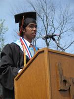 Graduation in Bethel Park Stadium in the 2000s