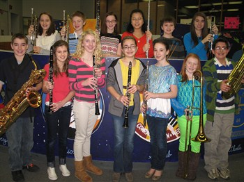 NAMS Elementary District Band Students