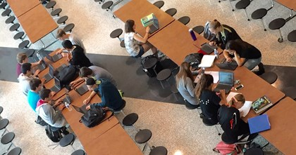 Chromebooks in Study Hall
