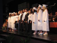 Top 21 Perform at Graduation