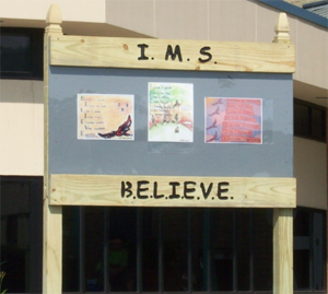 Believe acrostic sign